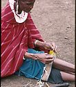 bead weaver creating with beads